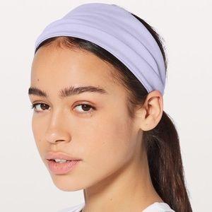 NWOT lululemon Fringe Fighter Headband